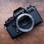 古くてもスマートデザインな CONTAX 139 Quartz に恋をしたので仲良くなりたい(モルト/グリップレザーの交換)