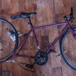 自転車(ピスト)のメンテナンス〜チェーン汚れ落し〜各部グリスアップ