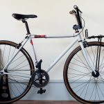 FUJI CLASSIC ピストをグラベル~BMXバイク化させたい。(連載❹ブレーキ取り付け オールドBMXの復刻パーツ 〜完成)