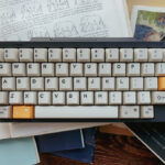 Replace the keycaps with Domikey 1980s for HHKB.